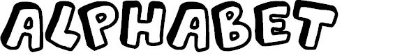 Preview image for Alphabet Souplings Font