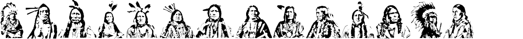 Preview image for First Nations Regular Font