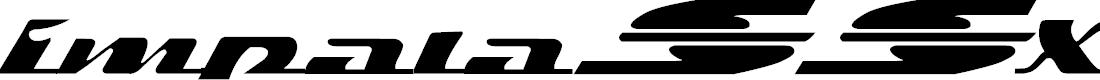 Preview image for ImpalaSSX Font