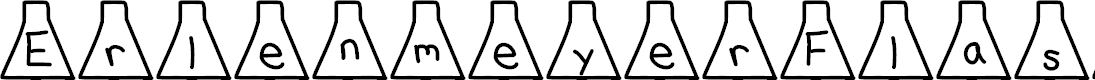 Preview image for ErlenmeyerFlask Font