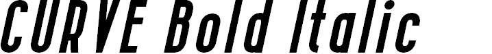 Preview image for CURVE Bold Italic