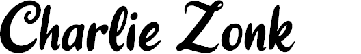 Preview image for Charlie Zonk Font