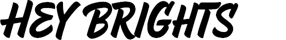Preview image for HeyBrights Regular Font