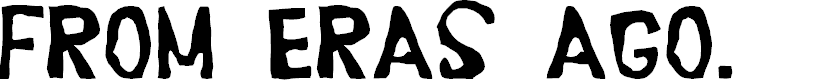 Preview image for Erasaur Font