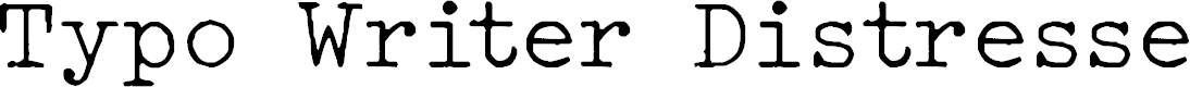 Preview image for Typo Writer Distressed Demo Font