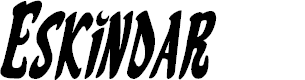 Preview image for Eskindar Condensed Italic