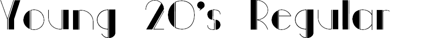 Preview image for Young 20s Regular Font