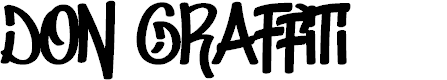 Preview image for Don Graffiti Font