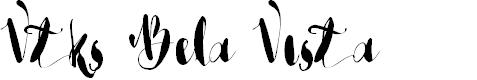 Preview image for Vtks Bela Vista Font