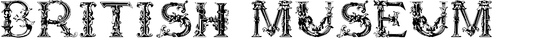 Preview image for British Museum 1490 Font