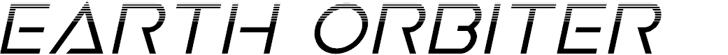 Preview image for Earth Orbiter Halftone Italic
