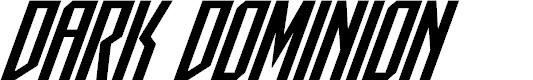 Preview image for Dark Dominion Super-Italic