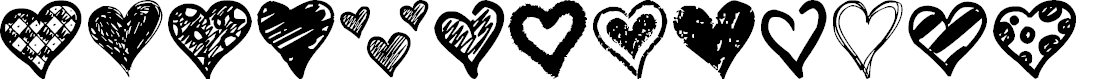 Preview image for Crazy Hearts Font