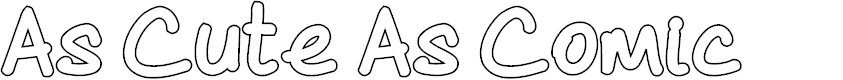 Preview image for As Cute As Comic Font