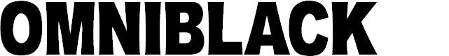 Preview image for OMNIBLACK Font