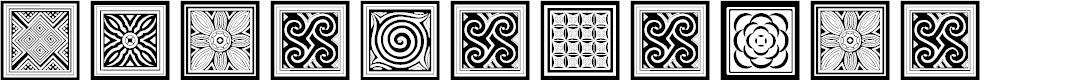 Preview image for Torajamatra Font