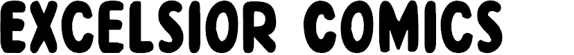 Preview image for Excelsior Comics Regular Font