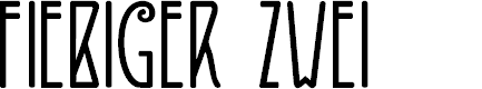 Preview image for DKFiebigerZwei Font
