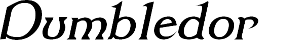 Preview image for Dumbledor 3 Italic