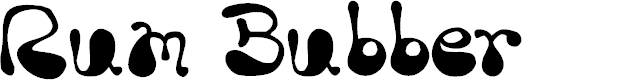 Preview image for Rum Bubber Font