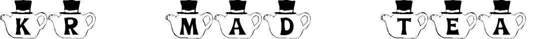Preview image for KR Mad Tea Party Font