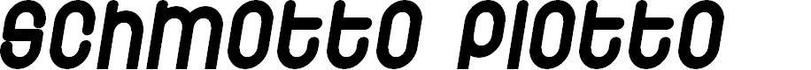 Preview image for Schmotto Plotto Font