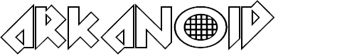 Preview image for Arkanoid Font