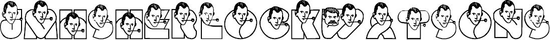 Preview image for JMHSherlockWatsonS-Regular Font