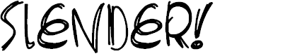 Preview image for Slenderscratch Font