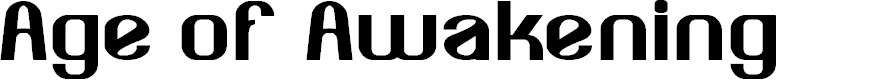 Preview image for Age of Awakening Font