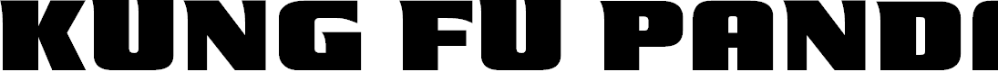 Preview image for Kung Fu Panda Regular Font