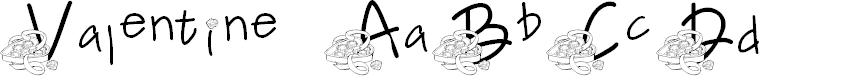 Preview image for FL Valentine Font