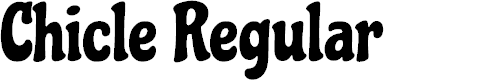 Preview image for Chicle Regular Font