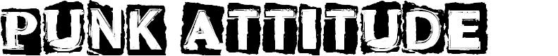Preview image for CF Punk Attitude Regular Font