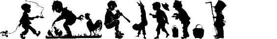 Preview image for Boys Sampler Pack Font
