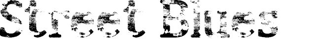 Preview image for Street Blues Font