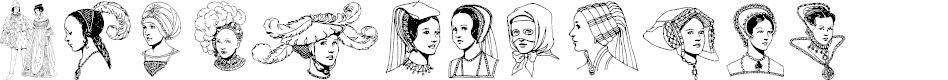 Preview image for RenaissanceCoiffure Font