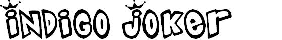 Preview image for Indigo Joker Font