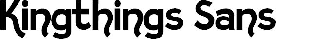 Preview image for Kingthings Sans Font