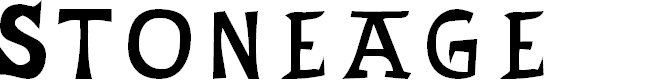 Preview image for Stoneage Font
