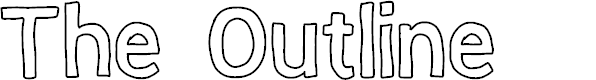 Preview image for The Outline Font
