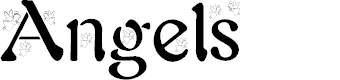 Preview image for BJF Angels Font
