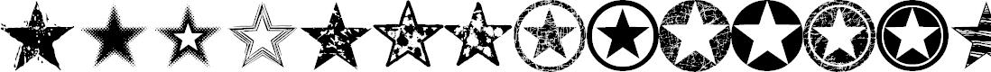 Preview image for Seeing Stars Font