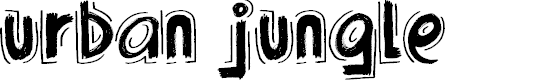 Preview image for Urban Jungle Font