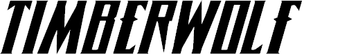 Preview image for Timberwolf Extra-expanded Italic