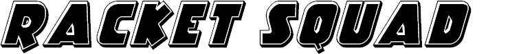 Preview image for Racket Squad Bevel Italic