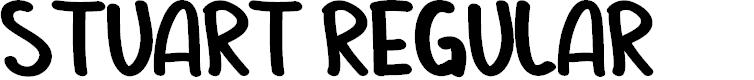 Preview image for STUART Regular Font