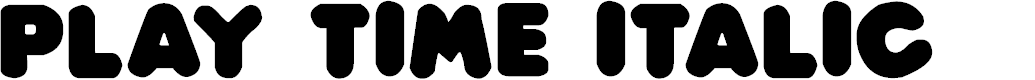Preview image for Play time Italic