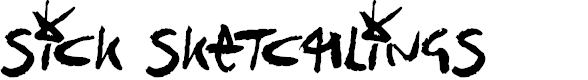 Preview image for Sick Sketchlings Font