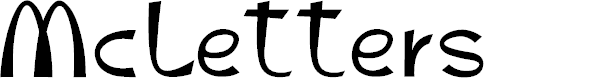 Preview image for McLetters Font